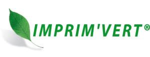 Logo Imprim'Vert, imprimerie respectueuse de l'environnement.