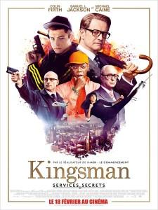 Kingsman - myblocnotes - Idéal Cinéma à Belleville