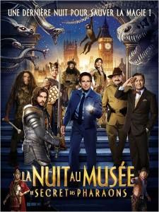 La nuit au musée : le secret des pharaons - myblocnotes - Cinéma Eden à Villefranche-sur-Saône