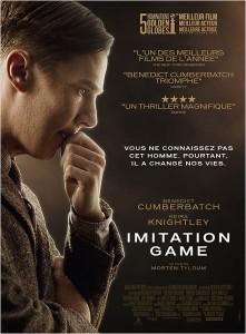 Imitation game - myblocnotes - Cinéma La Passerelle à Trévoux