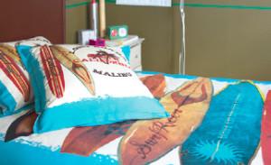 sur lensemble de la gamme jusquau 20 septembre composez la parure de lit de votre ado housse de couette unie en 8 motifs taie doreiller drap de douche