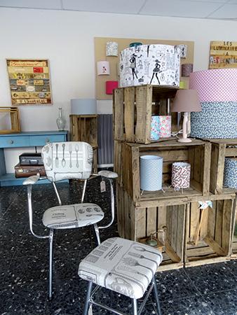 Chaises et meubles restaurés Etablie and co