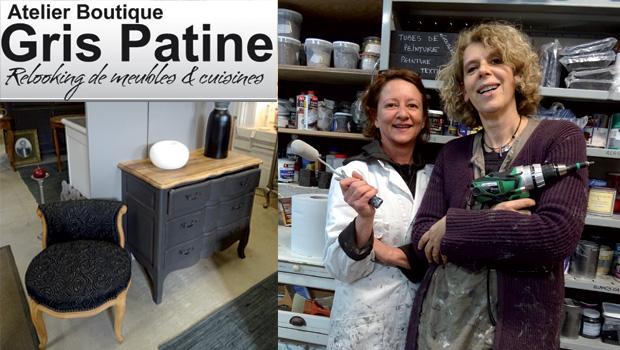 INTRO atelier boutique gris patine relooking meubles et cuisine