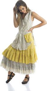 feemynine villefranche creatrices provencales rhum raisin robe jaune
