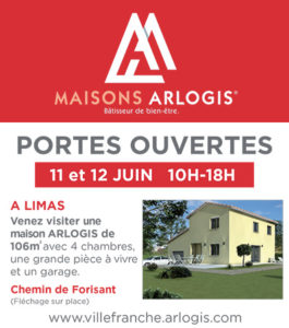 ARLOGIS porte ouverte villefranche juin 2016