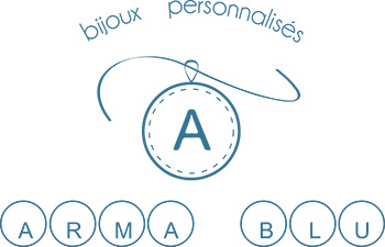 ARMA BLU villefranche bijoux logo bleu