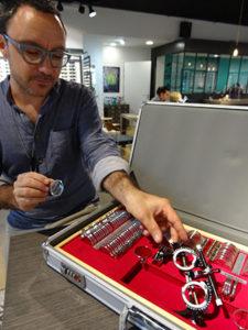 atelier de la lunette villefranche presentation lunette reglage domicile