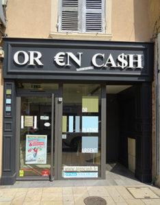 or en cash vitrine villefranche