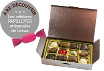 dragees et chocolats limas papillotes artisanales