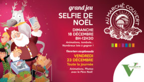 intro marche couvert villefranche affiche grand jeu selfie de noel 2016