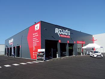 roady garage automobile villefranche batiment
