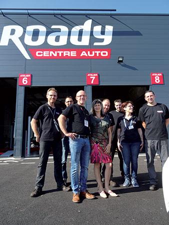 roady garage automobile villefranche equipe