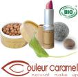 institut sophie belleville produits maquillage couleur caramel bio