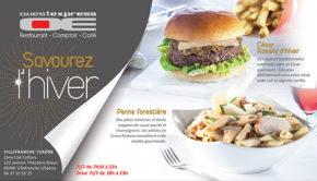 intro ouestexpress restaurant davourez lhiver 2017