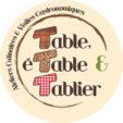 table etable et tablier logo