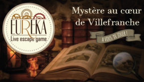 INTRO EUREKA live escape game villefranche logo