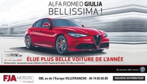 intro Alfa Romeo giulia pub FJA motors