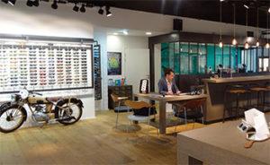 latelier de la lunette villefranche interieur magasin