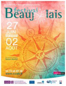 Affiche Festival en Beaujolais