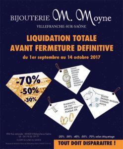 MOYNE villefranche liquidation totale BN316