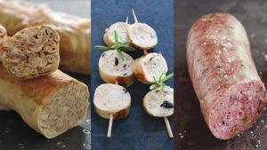 andouillet boudin blanc saucisson a cuire bobosse saint jean ardieres