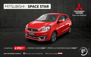 mitsubishi space star a partir de 6990 euros