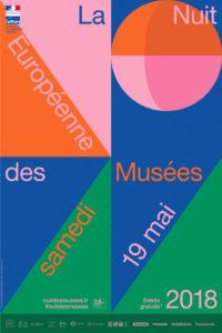 Nuit des Musees affiche 2018