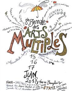 8e biennale des arts multiples vaux en beaujolais