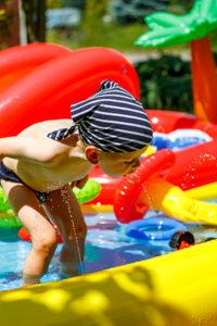 happy city jeux gonflable eau petit garcon