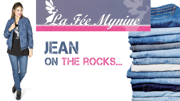 Intro feemynine villefranche jeans on the rocks BN326