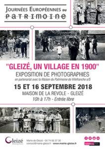gleize patrimoine 2018 BN326