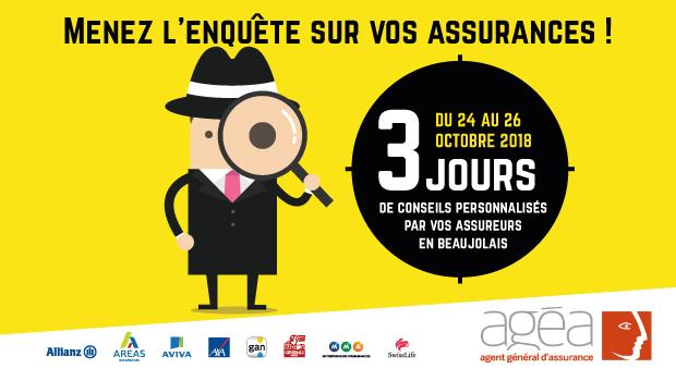 intro AGEA 3jours conseils assurances affiche