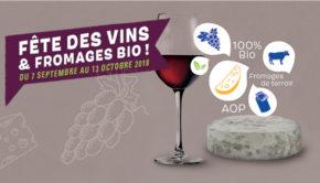intro BIOCOOP villefranche promos vin fromage septembre 2018