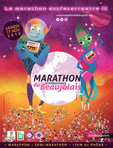 marathon international beaujolais 2018