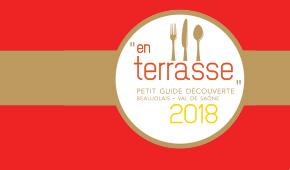 """Guide """"En terrasse 2018"""""""
