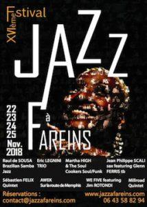 affiche jazz a fareins 2018