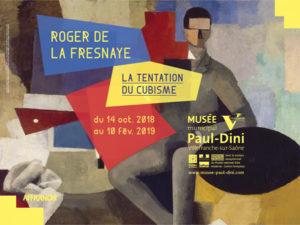 musee paul dini affiche Roger de la Frenaye
