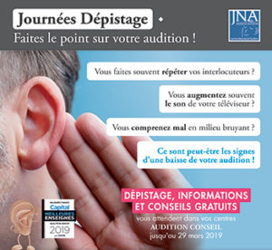 Audition conseil Journee depistage BN332