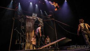 Intro Theatre villefranche Machine de cirque Loup William Theberge