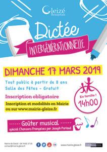 mairie gleize Dictee 2019