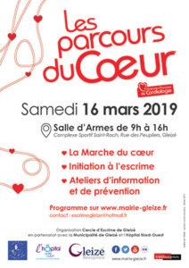 mairie gleize Parcours du coeur 2019