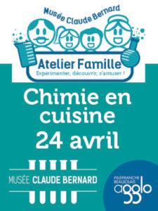 agglo PAP Atelier famille musee claude bernard saint julien chimie en cuisine 24 avril