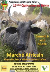 quinzaine du benin villefranche kandi 17e edition 2019