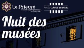 intro le prieure salles arbuissonnas musee claude bernard st julien nuit des musees mai2019