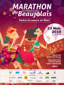 marathon beaujolais AFFICHE