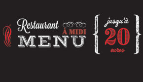 intro restaurant menu midi 20 euros