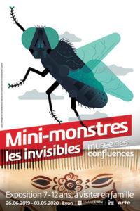 musee confluences mini monstres affiche