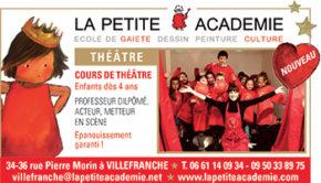 petite academie pub theatre oct 2019