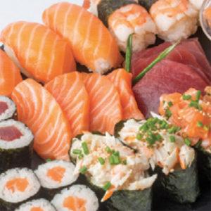 restaurant menu midi 20 euros sushi frais