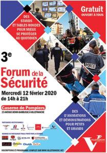 forum securite affiche 2020